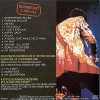 Purchase The Who - Fillmore East 6. April 1968 Bo