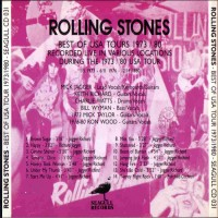 Purchase The Rolling Stones - Best Of U.S.A. Tour 73/80