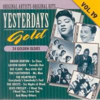 Purchase VA - Yesterdays Gold (24 Golden Oldies) Vol. 19