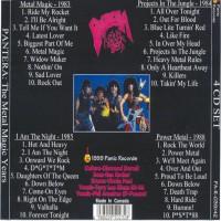 Purchase Pantera - The Metal Magic Years 4 CD Set CD4