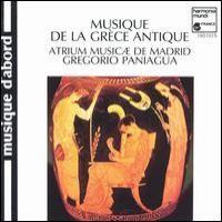 Purchase Gregorio Paniagua - Musique De La Grece Antique
