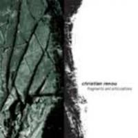 Purchase Christian Renou - Fragments and Articulations