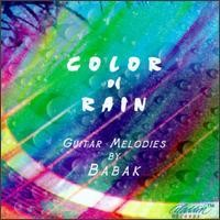 Purchase Babak - Color of Rain