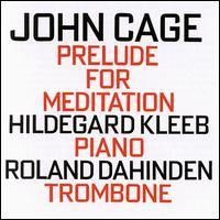 Purchase John Cage - Prelude For Meditation