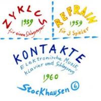 Purchase Karlheinz Stockhausen - Zyklus-Refrain-Kontakte