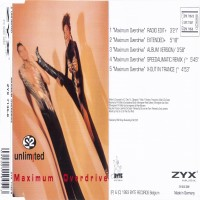 Purchase 2 Unlimited - Maximum Overdrive [Single]