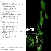 Purchase A-Ha - An Afternoon High cd1