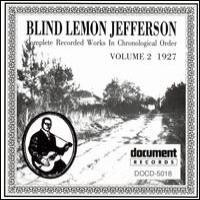Purchase Blind Lemon Jefferson - Complete Recorded Works, Vol. 2 - 1927