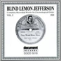 Purchase Blind Lemon Jefferson - Complete Recorded Works, Vol. 3 - 1928