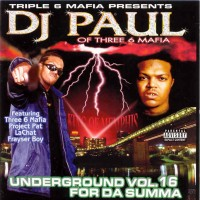 Purchase Dj Paul - Underground Vol. 16 For Da Summa
