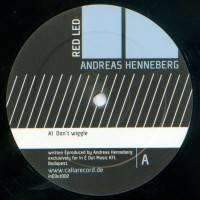 Purchase Andreas Henneberg - Dont Wiggle  Red Led Vinyl