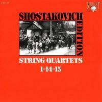 Purchase Dmitri Shostakovich - Shostakovich Edition: String Quartets 1-14-15