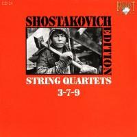 Purchase Dmitri Shostakovich - Shostakovich Edition: String Quartets 3-7-9