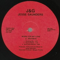 Purchase Jesse Saunders - Work For My Love