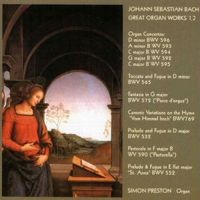 Purchase Johann Sebastian Bach - Great Organ Works, Vol. 1