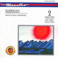 Purchase Collegium Vocale Koln - Madrigals