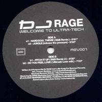 Purchase DJ Rage - Welcome To Ultra Tech (Vinyl)