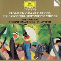 Purchase Edward Elgar - Enigma Variations - Cello Concerto - Serenade For Strings