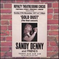 Purchase DENNY, Sandy - 1977 Co - Gold Dust (Final concert)