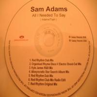 Purchase Sam Adams - All I Need to Say CDM