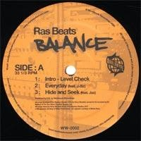 Purchase Ras Beats - Balance (Vinyl)