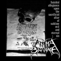 Purchase Anima Damnata - Suicidal Allegiance Upon The Sacrificial Altar Of Sublime Evil And Eternal Sin
