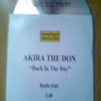 Purchase Akira The Don - Back in the Day  CDS