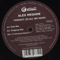 Purchase alex megane - Tonight-(yawa0738-6) Vinyl