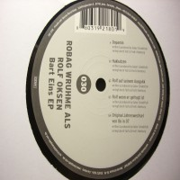 Purchase Robag Wruhme Als Rolf Oksen - Bart_Eins EP (Vinyl)