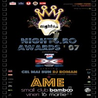 Purchase Ame - Live at Nights.Ro Awards Bucharest (Romania) DAT