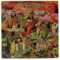 Purchase iron butterfly - Live (Vinyl)