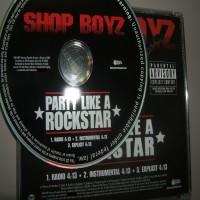 Purchase Shop Boyz - Party Like A Rockstar (Promo CDS)-Proper