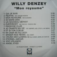 Purchase Willy Denzey - Mon Royaume (Rerip)