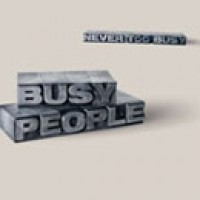 Purchase Busy People - Never Too Busy
