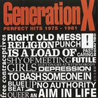 Purchase Generation X - Perfect Hits 1975-1981