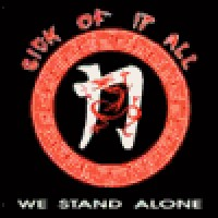 Purchase Sick Of It All - We Stand Alone