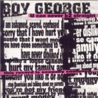 Purchase Boy George - U Can Never B2 Straight
