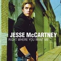 Purchase Jesse McCartney - Right Where You Want Me