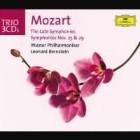 Purchase Wolfgang Amadeus Mozart - Mozart: Late Symphonies (Leonard Bernstein & Wiener Philharmoniker)(Vinyl) CD1
