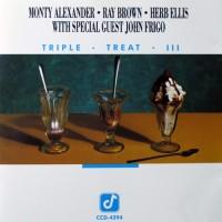 Purchase Monty Alexander - Triple Treat III (With Ray Brown & Herb Ellis)
