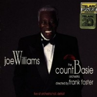 Purchase Joe Williams - Live At Orchestra Hall In Detroit (With The Count Basie Orchestra Directed By Frank Foster)