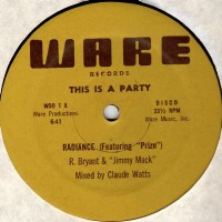 Purchase Radiance - This Is A Party & The Micstro (VLS)