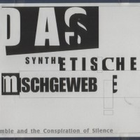 Purchase Das Synthetische Mischgewebe - Some Conceptual Obligations, The Usual Rough & Rumble And The Conspiration Of Silence