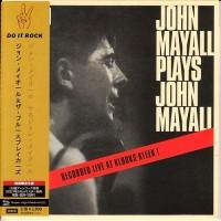 Purchase John Mayall & The Bluesbreakers - John Mayall Plays John Mayall (Vinyl)
