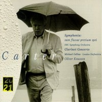 Purchase Elliott Carter - Symphony - Clarinet Concerto