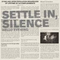 Purchase Hello Evening - Settle In, Silence