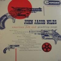 Purchase John Jacob Niles - American Folk & Gambling Songs (Vinyl)