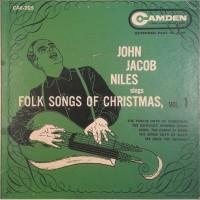 Purchase John Jacob Niles - Folk Songs Of Christmas Vol. 1 (VLS)