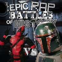Purchase Epic Rap Battles of History - Deadpool vs Boba Fett (CDS)