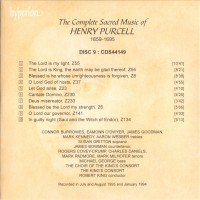 Purchase Henry Purcell - The Complete Anthems & Services Vol. 9